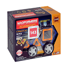 Фото магнитный конструктор Magformers XL Cruiser Set - УЦЕНКА - 143
