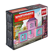 Фото магнитный конструктор Magformers Mini House Set - УЦЕНКА - 210