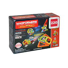 Фото магнитный конструктор Magformers Space Wow Set - УЦЕНКА - 220