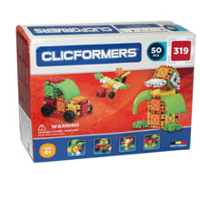 Фото конструктор Clicformers Basic Set 50 - УЦЕНКА - 319