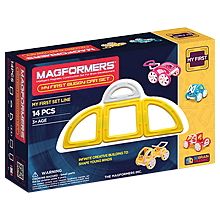 Купить Magformers My First Buggy Car Set - Yellow