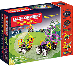Купить Magformers Zoo Racing Set