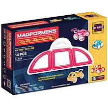 Купить Magformers My First Buggy Car Set - Pink