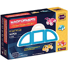 Купить Magformers My First Buggy Car Set - Blue