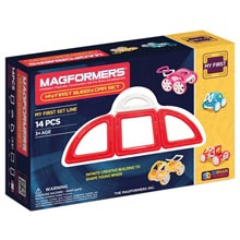 Купить Magformers My First Buggy Car Set - Red
