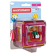 Купить Magformers Figure Plus Girl Set