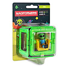 Купить Magformers Figure Plus Alien Set