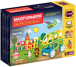 Купить Magformers My First Play 100 Set