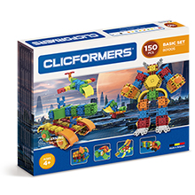 Фото конструктор Clicformers Basic Set 150, 150 элементов