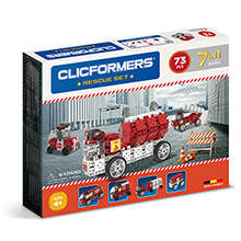 Фото конструктор Clicformers Rescue Set, 73 элемента