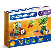 Фото конструктор Clicformers Basic Set 90, 90 элементов