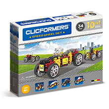 Фото конструктор Clicformers Speed Wheel Set, 34 элемента