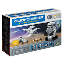 Фото конструктор Clicformers Mini Space Set, 30 элементов