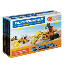 Фото конструктор Clicformers Mini Construction Set, 30 элементов