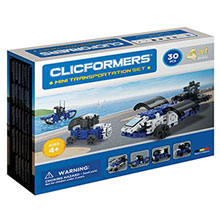 Фото конструктор Clicformers Mini Transportation Set, 30 элементов