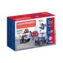 Купить Magformers Amazing Police & Rescue Set