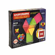 Фото магнитный конструктор Magformers Window Solid 30 - УЦЕНКА - 96