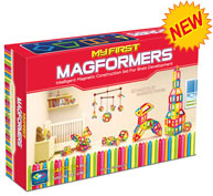 Обзор набора «Magformers My First 54»