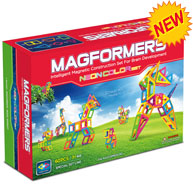 Обзор набора «Magformers Neon Color Set»