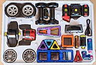 Обзор набора «Magformers Power Vehicle Set»